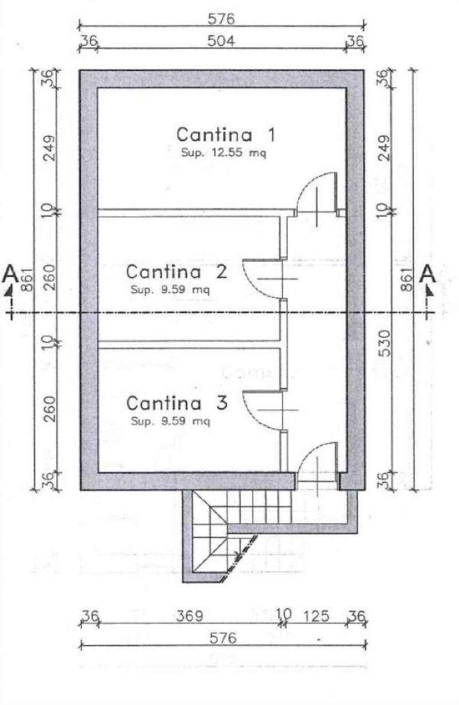 Vendita  bilocale Palazzo Pignano Via G. B. Benzoni 1 1027387