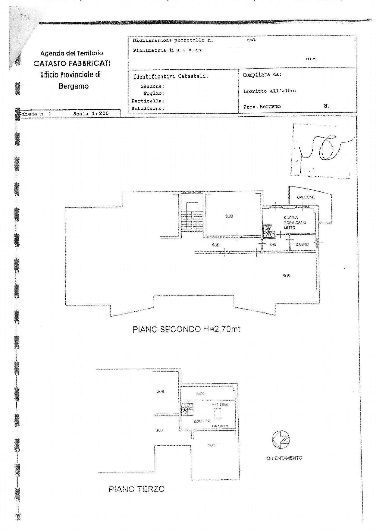 Vendita  bilocale Stezzano Via Edison 1 1082854