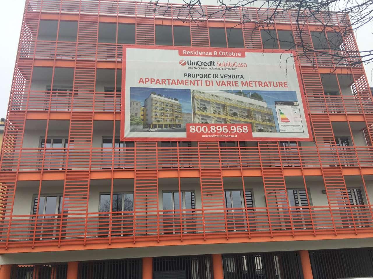 Bilocale Milano Via 8 Ottobre 1