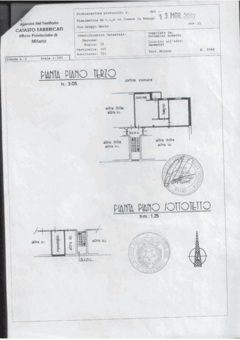 Vendita  bilocale Senago Via Mario Greppi 1 661092