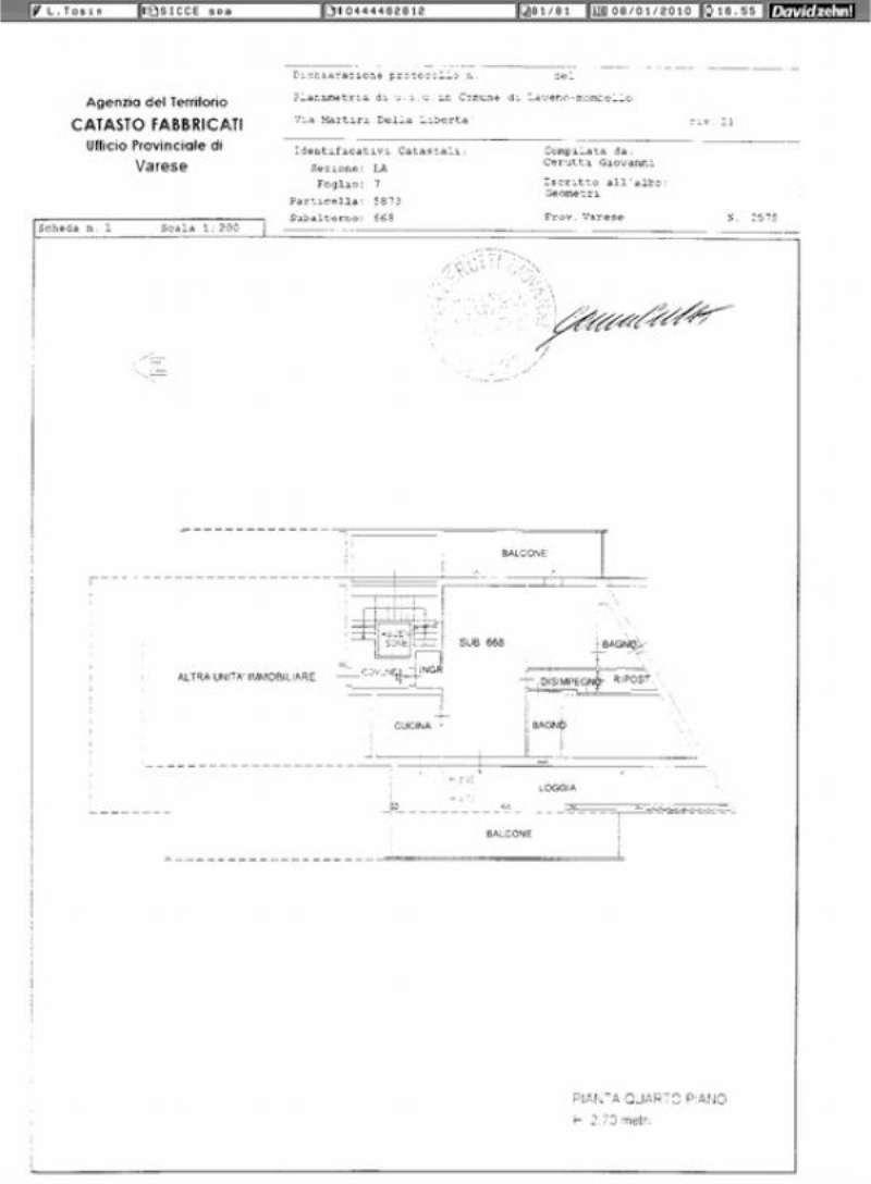 Vendita  bilocale Laveno Mombello Via Martiri Della Libertà 1 837791