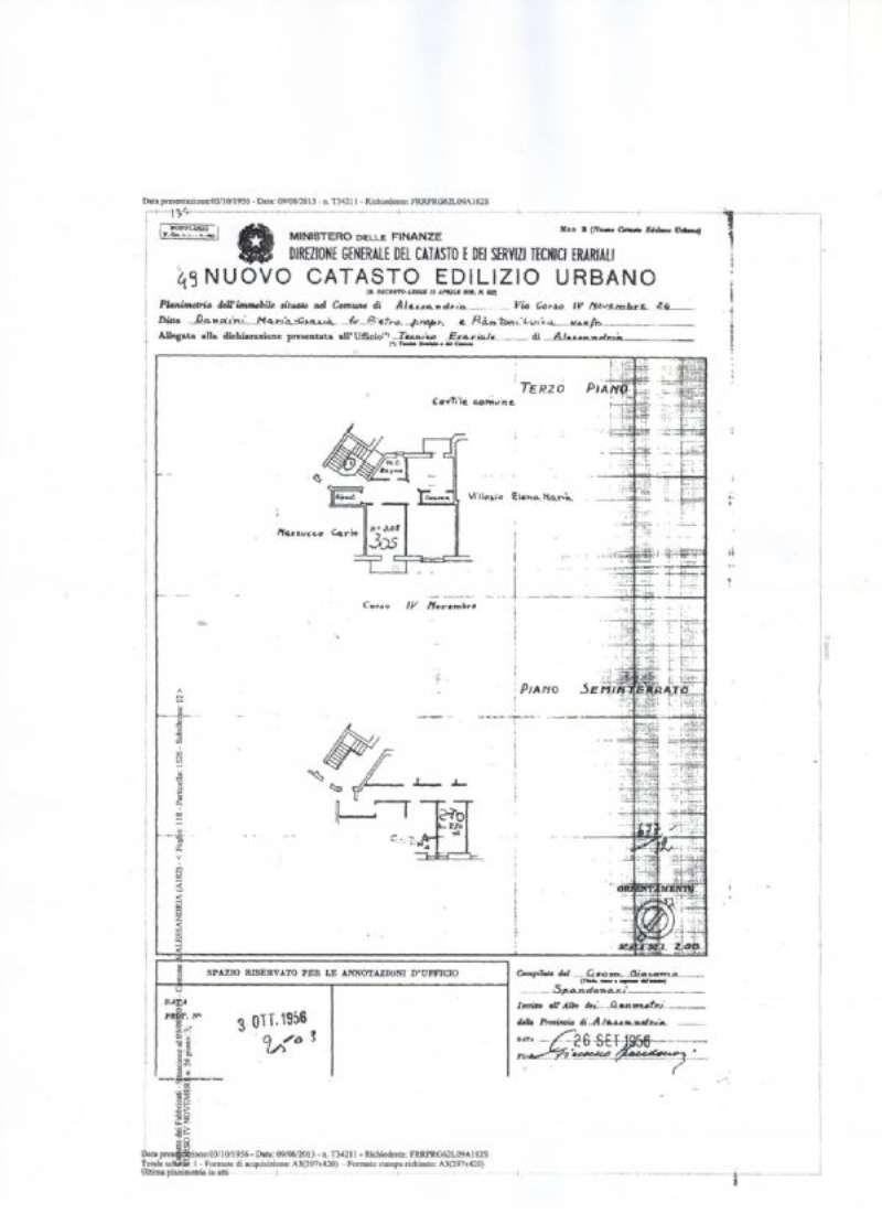 Vendita  bilocale Alessandria Corso Iv Novembre 1 836028