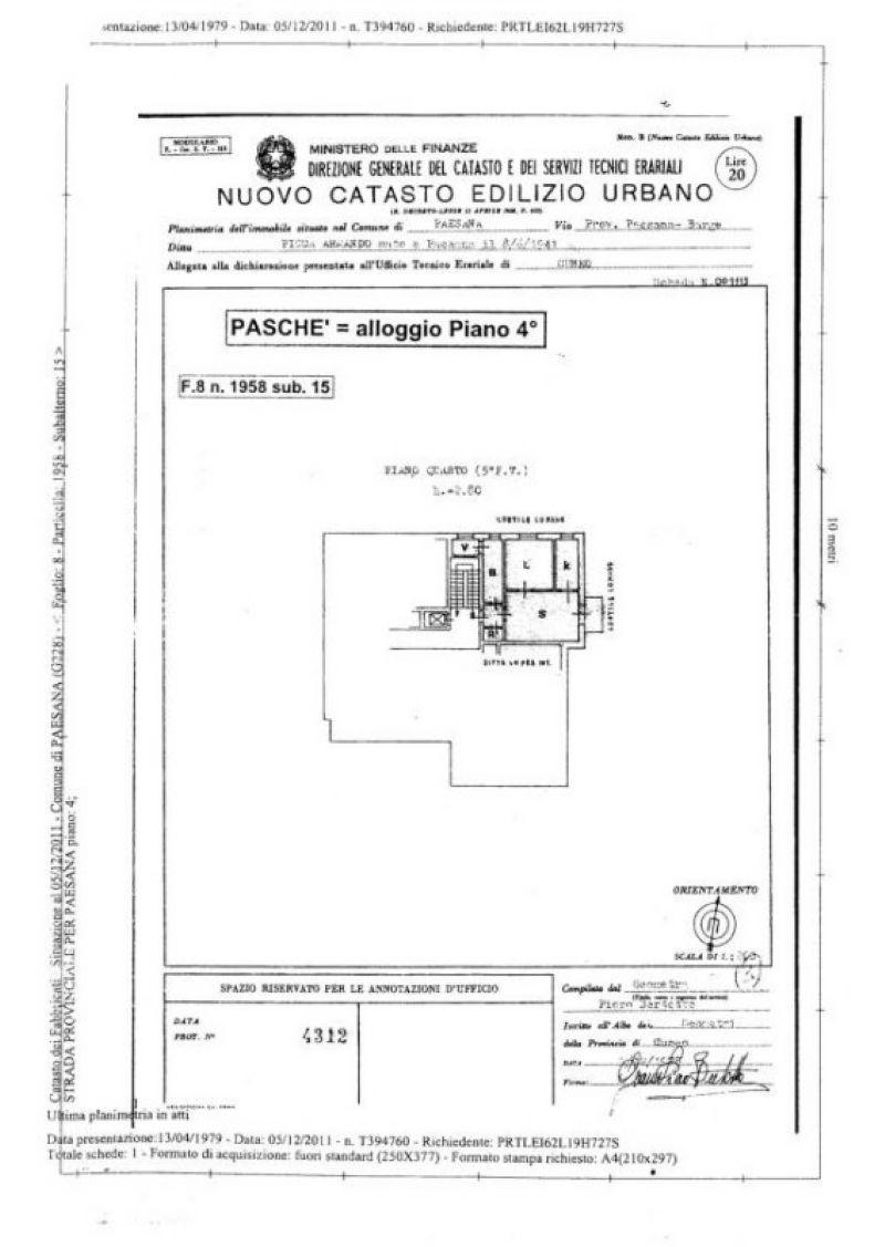 Vendita  bilocale Paesana Via Località Paschè 1 661093