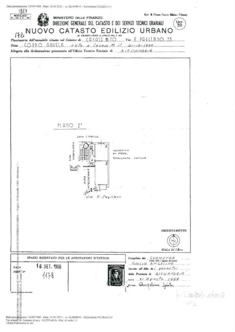 Vendita  bilocale Casale Monferrato Via Eleuterio Pagliano 1 954614
