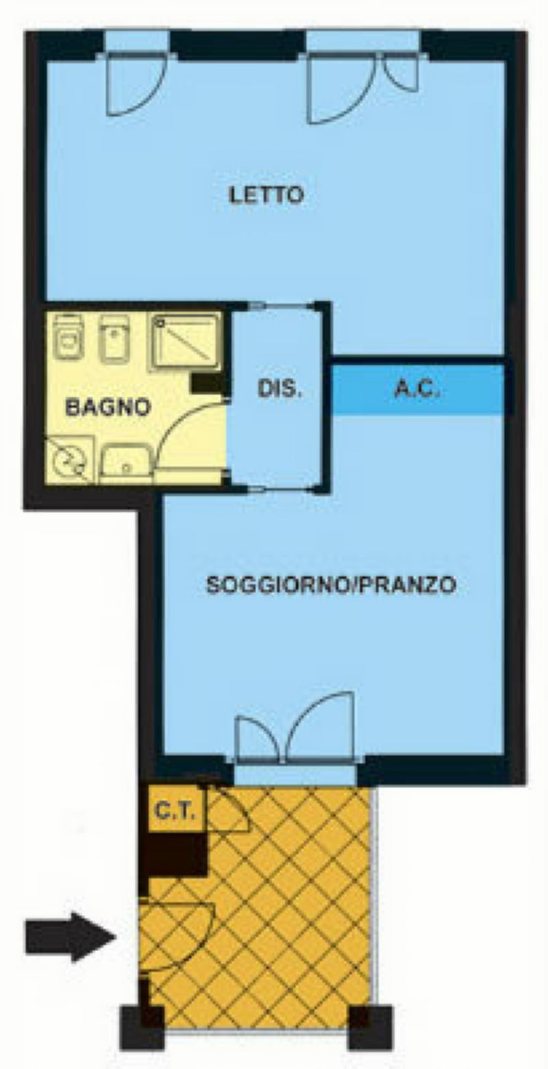 Affitto  bilocale Favria Borgata San Giuseppe 1 375537
