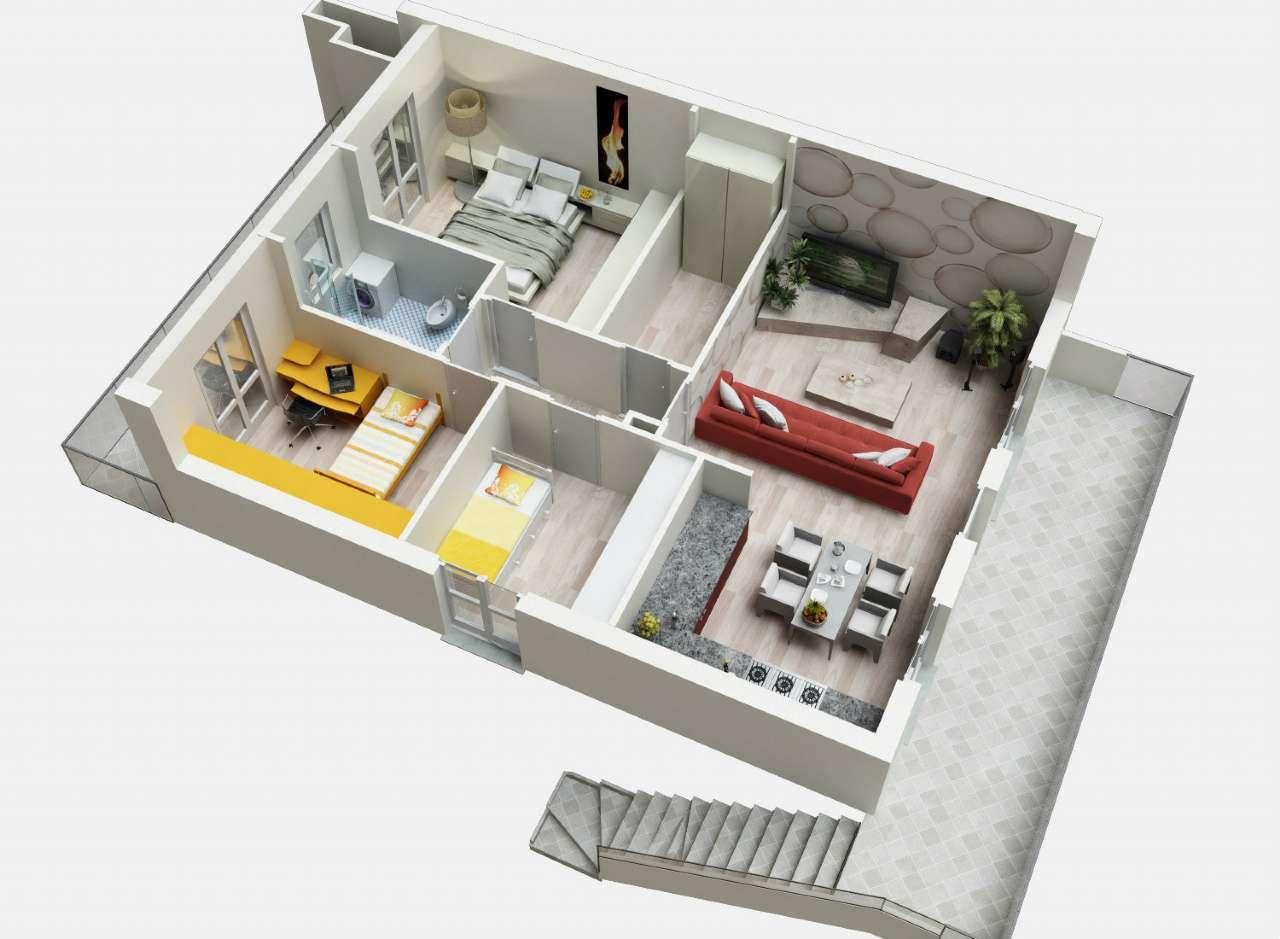 Appartamento in vendita a Grassobbio, 3 locali, prezzo € 250.000 | Cambio Casa.it