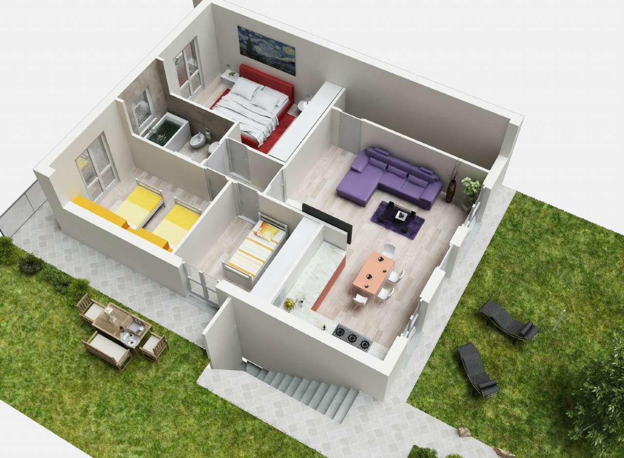 Appartamento in vendita a Grassobbio, 4 locali, prezzo € 269.000 | Cambio Casa.it