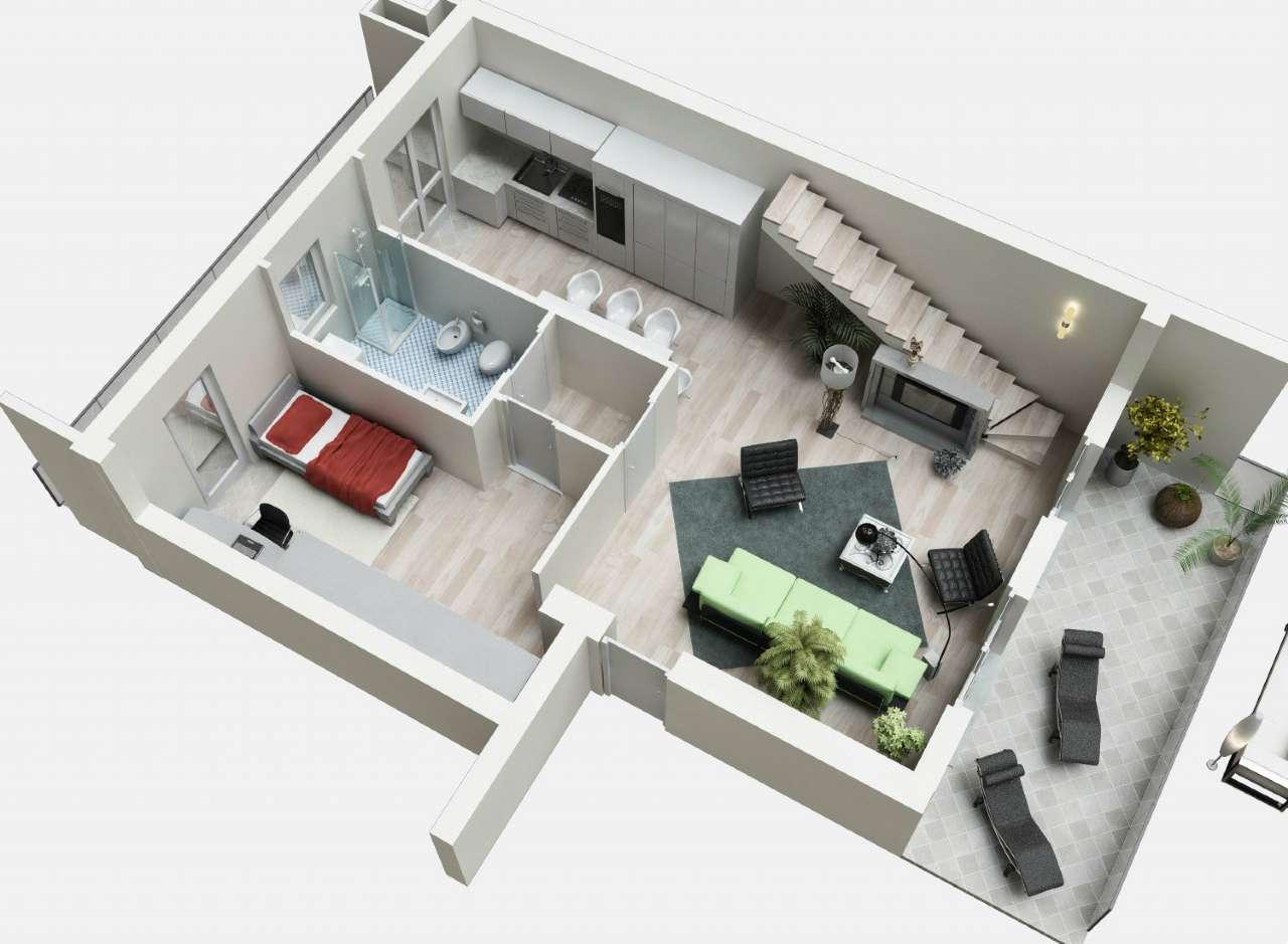 Appartamento in vendita a Grassobbio, 4 locali, prezzo € 225.000 | Cambio Casa.it