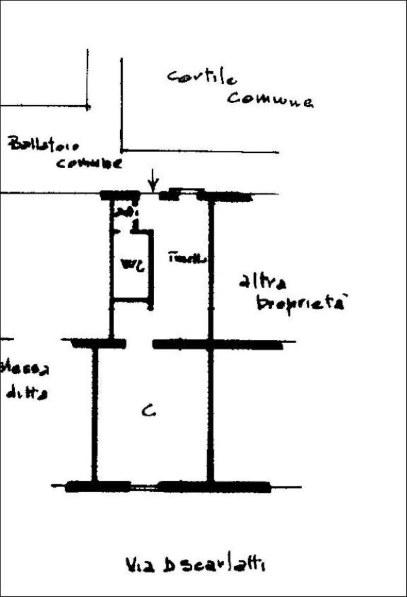 Vendita  bilocale Milano Via Domenico Scarlatti 1 931642