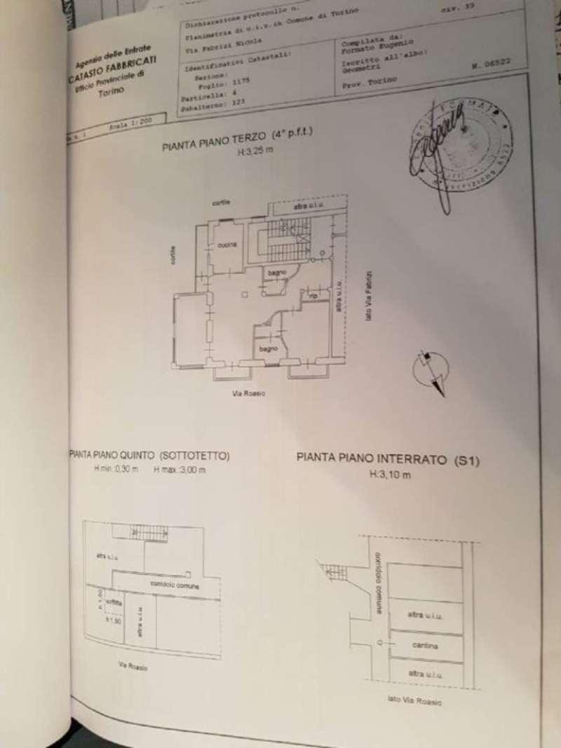 Vendita  bilocale Torino Via Fabrizi 1 1026304