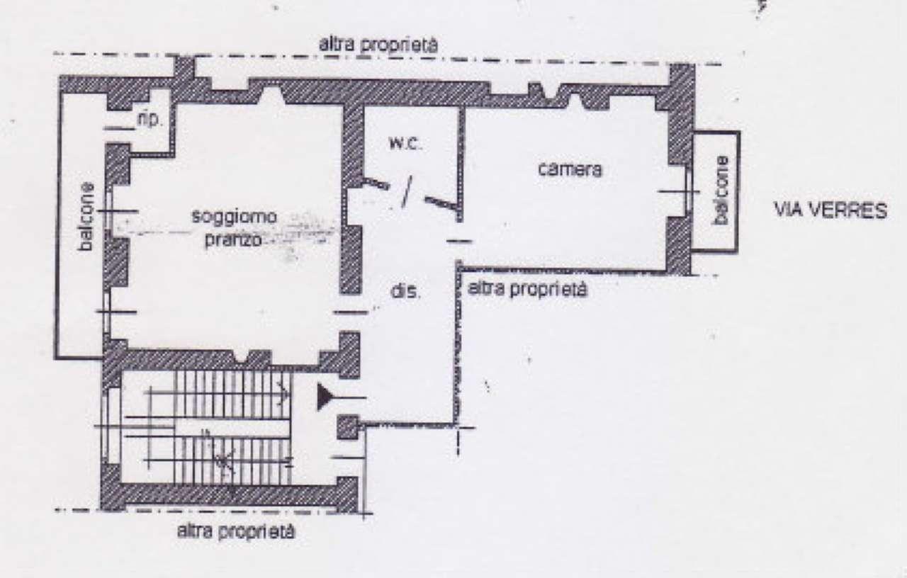 Vendita  bilocale Torino Via Verres 1 625074