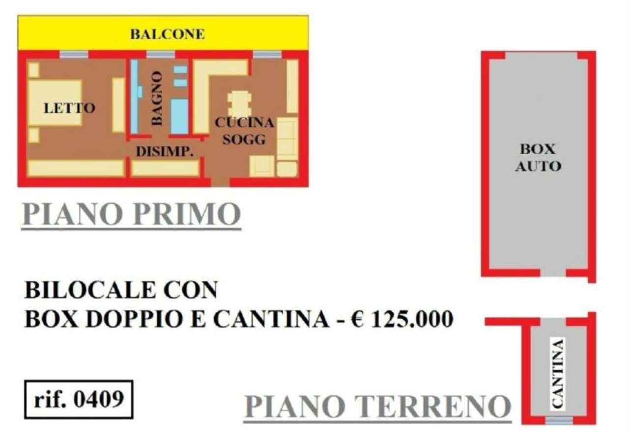Vendita  bilocale Rivolta d Adda Via Ugo Foscolo 1 843705