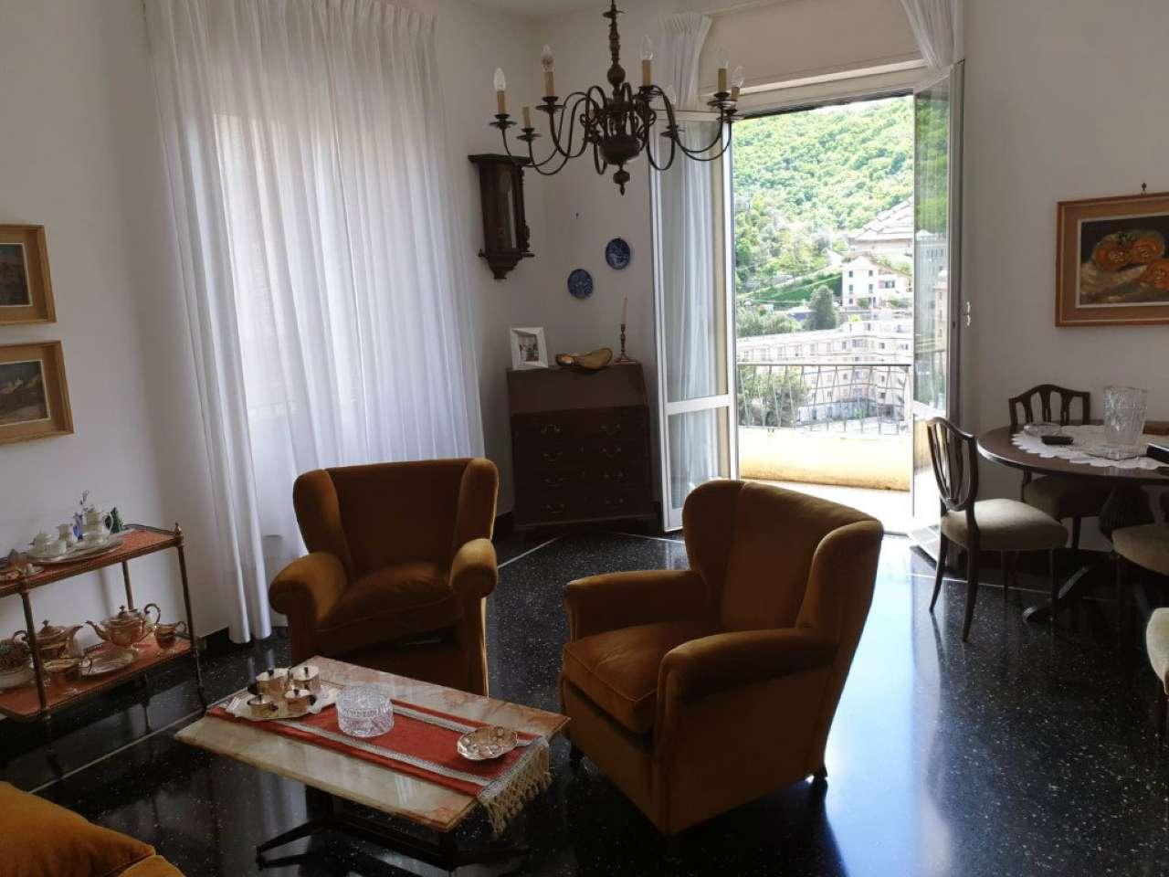 Foto 1 di Appartamento via Susanna Fontanarossa, Genova (zona Quezzi)