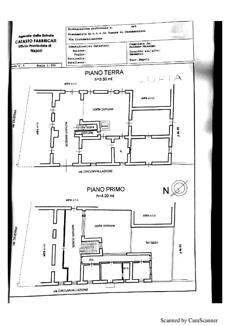 Casamarciano Vendita CASALE / RUSTICO / CASA / CASCINA Immagine 1