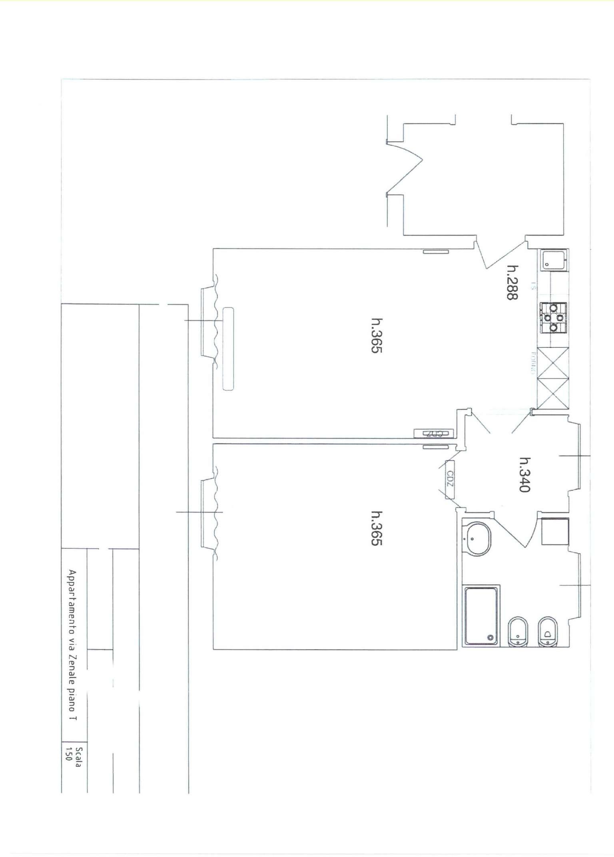 Affitto  bilocale Milano Via Via Zenale 1 840202