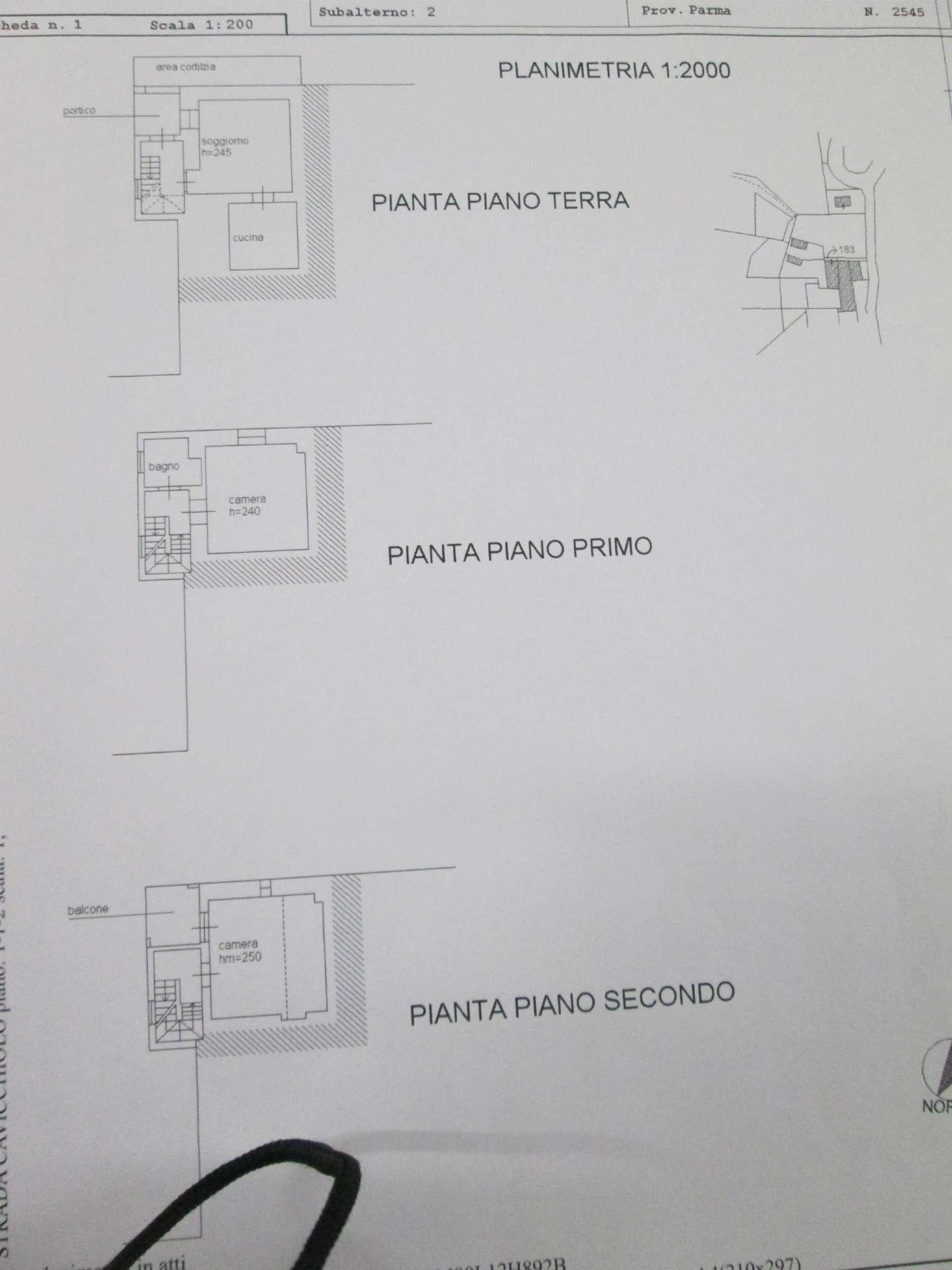Medesano Vendita PORZIONE DI CASA Immagine 1