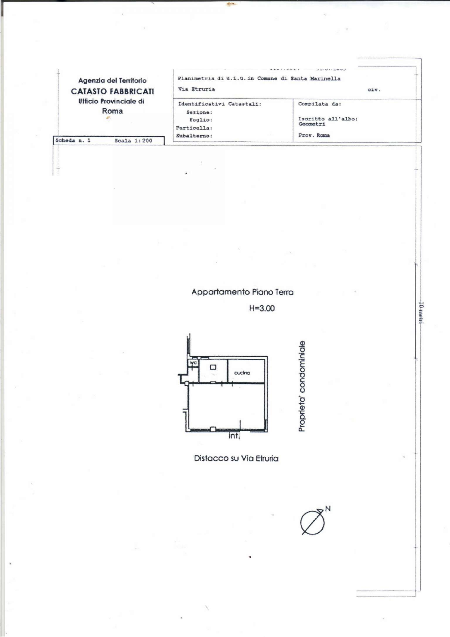 Vendita  bilocale Santa Marinella Via Etruria 1 1081413
