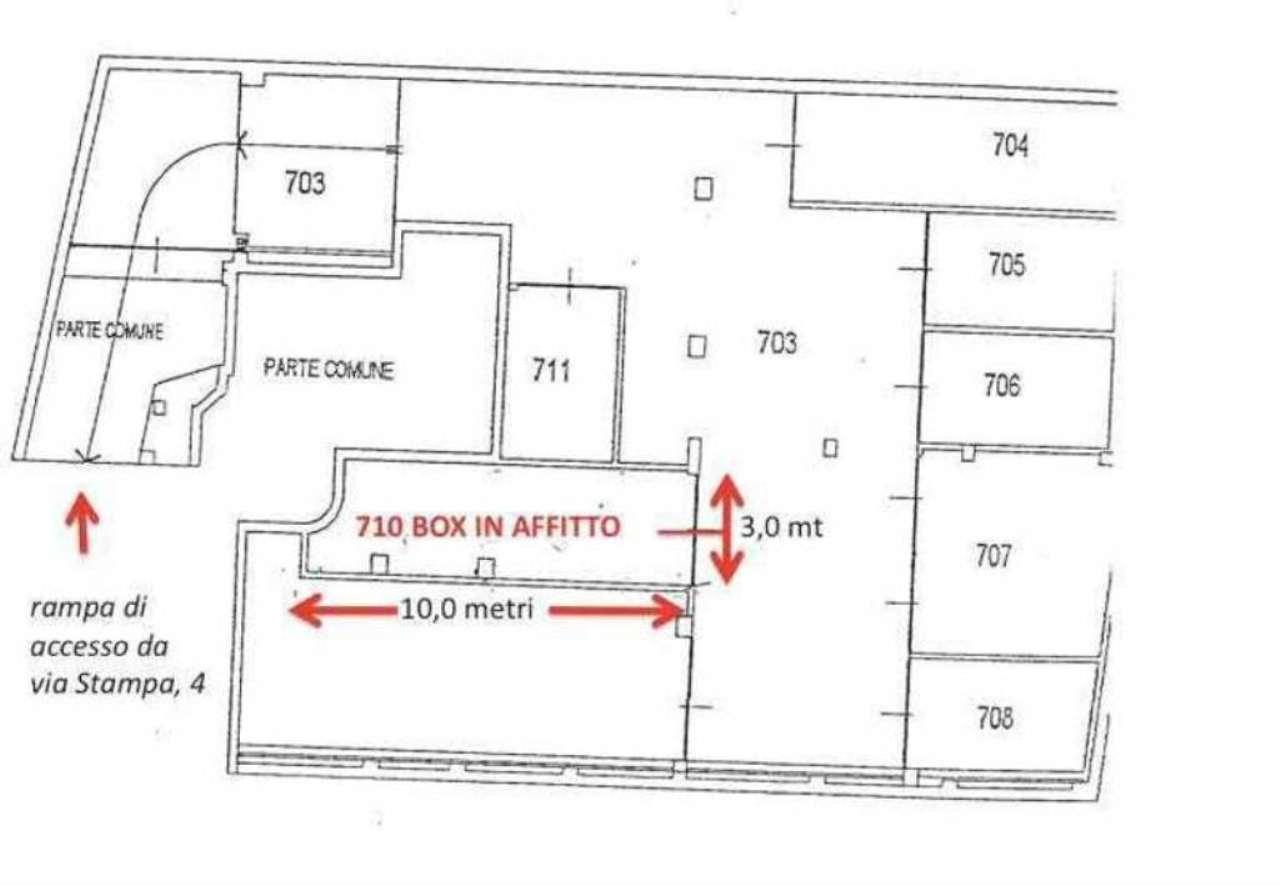 Magazzino in affitto a Milano, 1 locali, zona Zona: 1 . Centro Storico, Duomo, Brera, Cadorna, Cattolica, prezzo € 200 | Cambio Casa.it