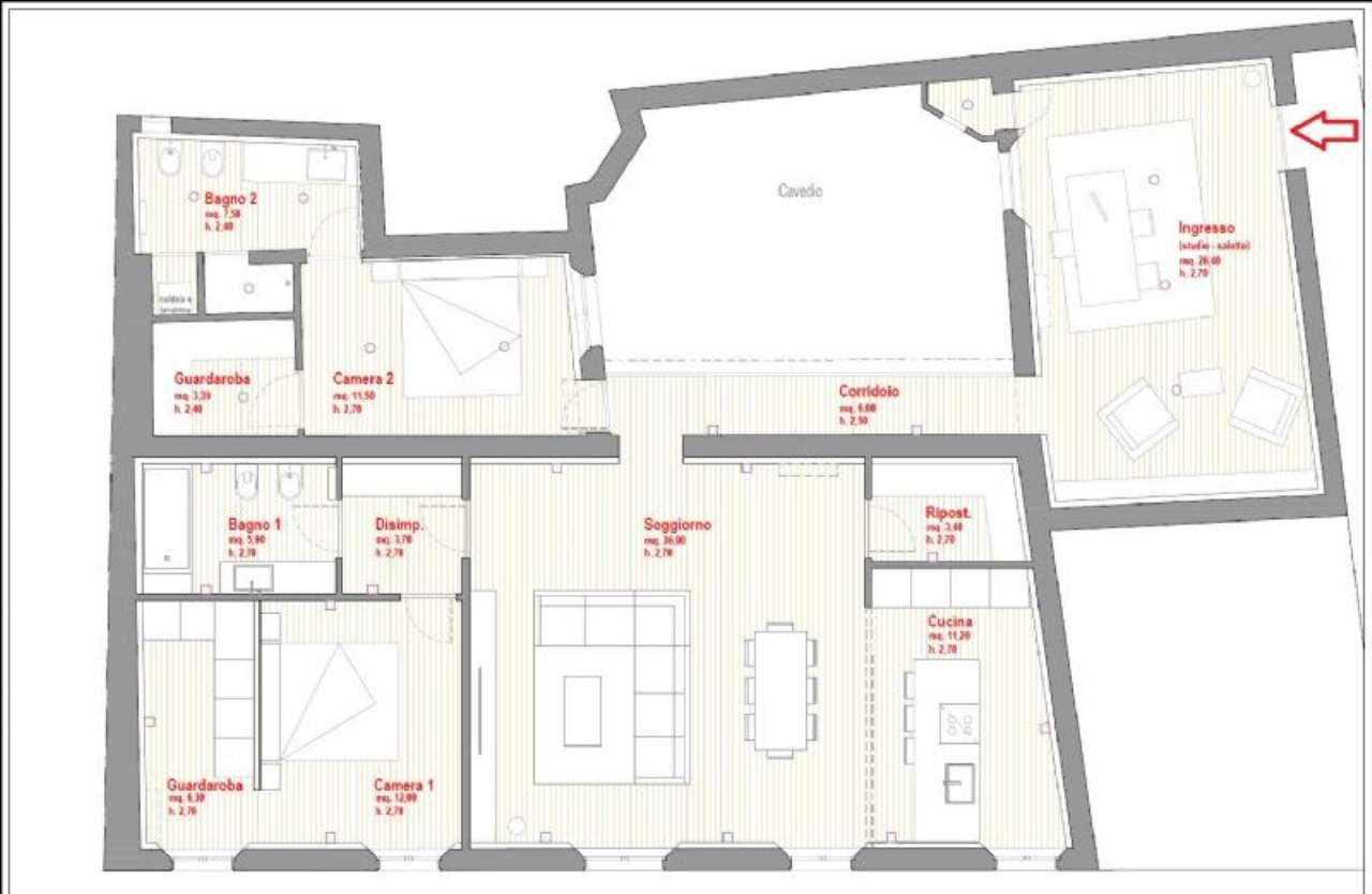 Attico / Mansarda in vendita a Reggio Emilia, 4 locali, prezzo € 550.000 | Cambio Casa.it