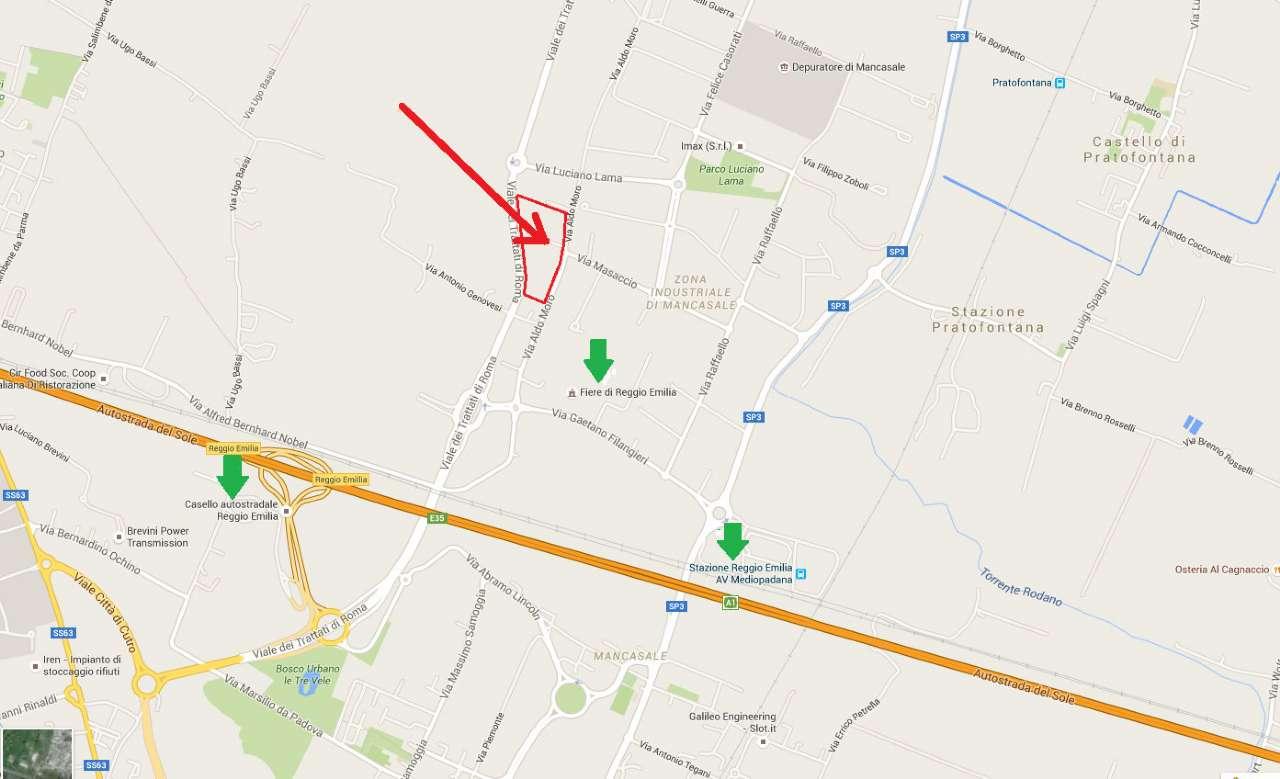 Reggio Emilia area commerciale / industriale a 1.200 mt dal casello autostradale A1 Rif.8889467