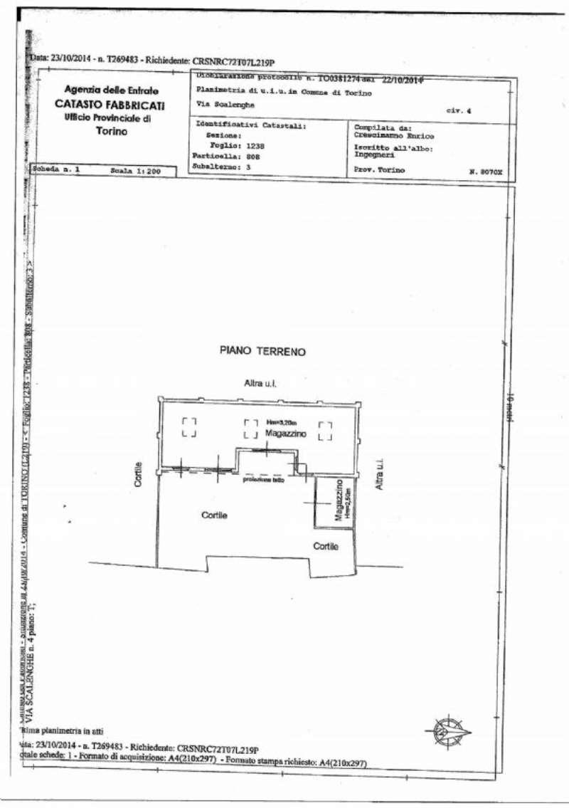 Magazzino in affitto a Torino, 9999 locali, zona Zona: 8 . San Paolo, Cenisia, prezzo € 500 | Cambio Casa.it