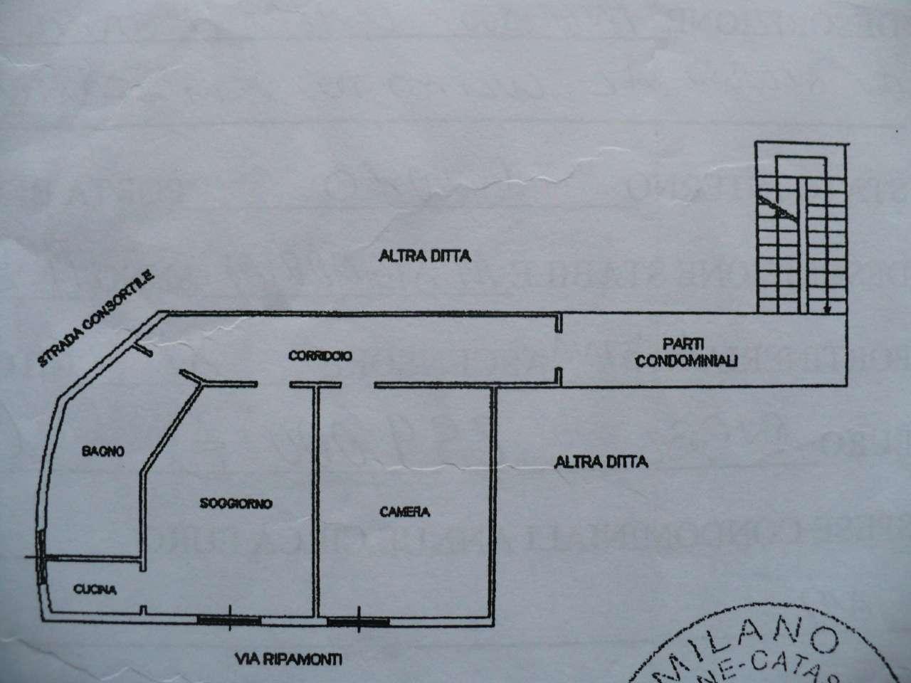 Vendita  bilocale Milano Via Ripamonti 1 426402
