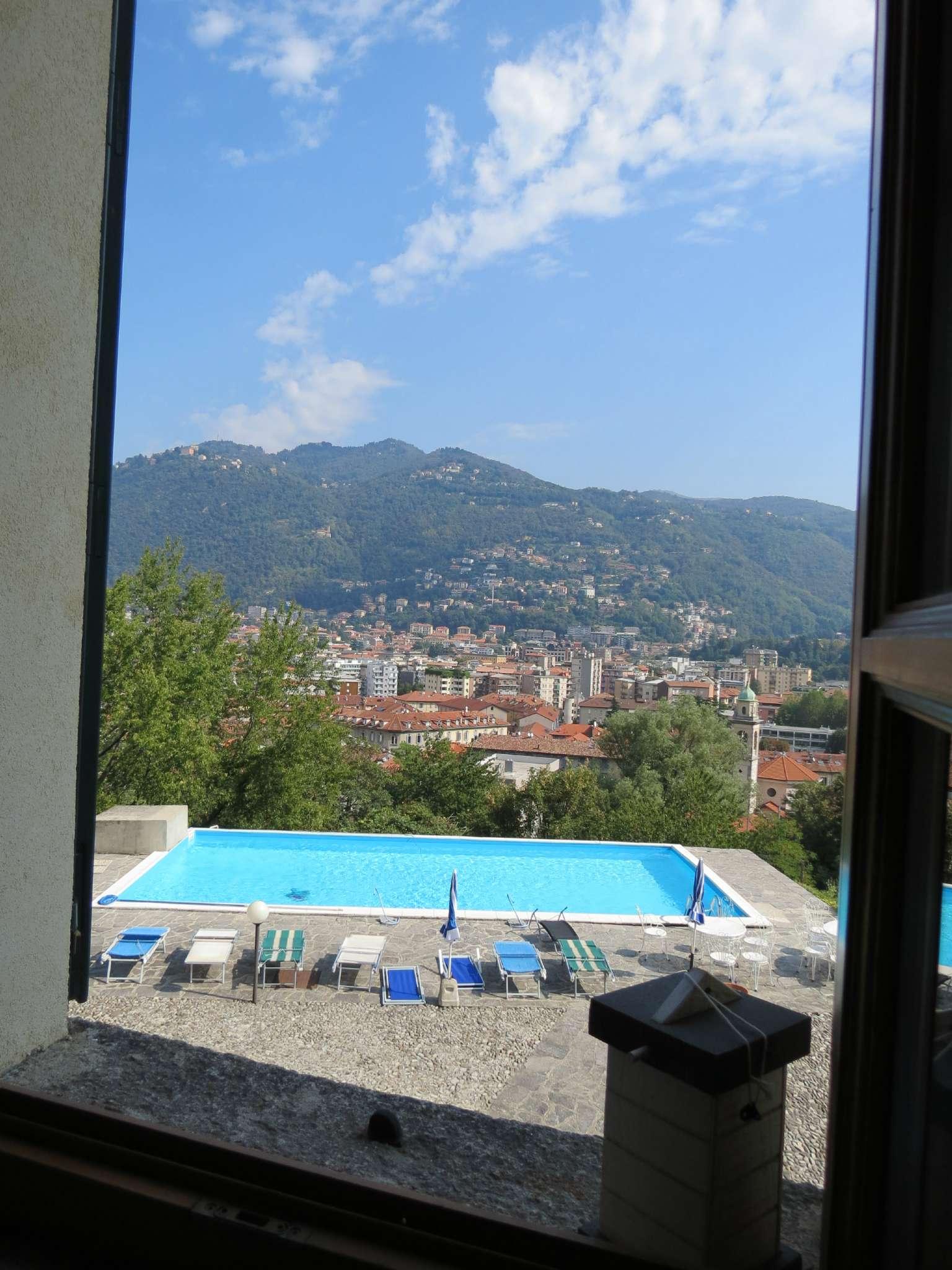 Bilocale Como Via Castel Baradello 2