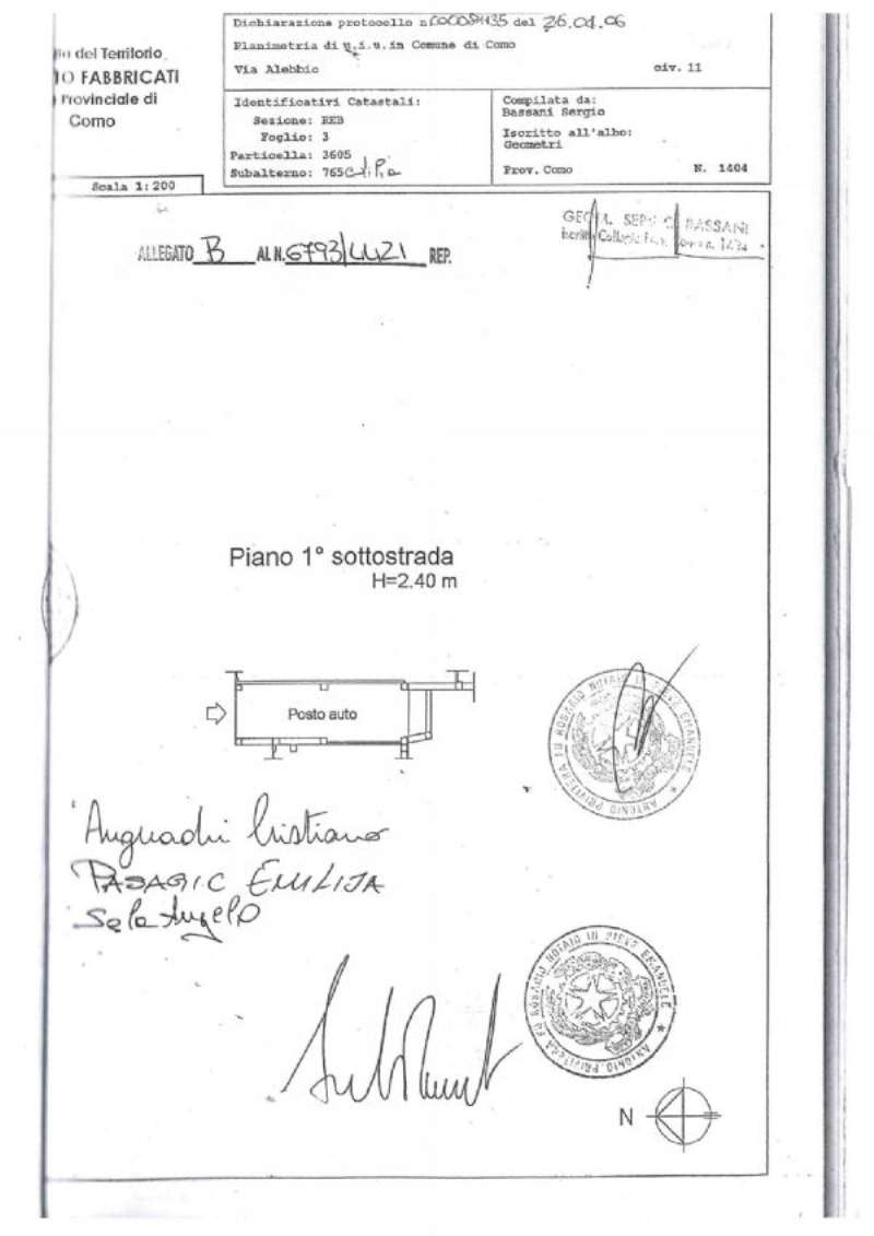 Vendita  bilocale Como Via Parrocchiale 1 1087374