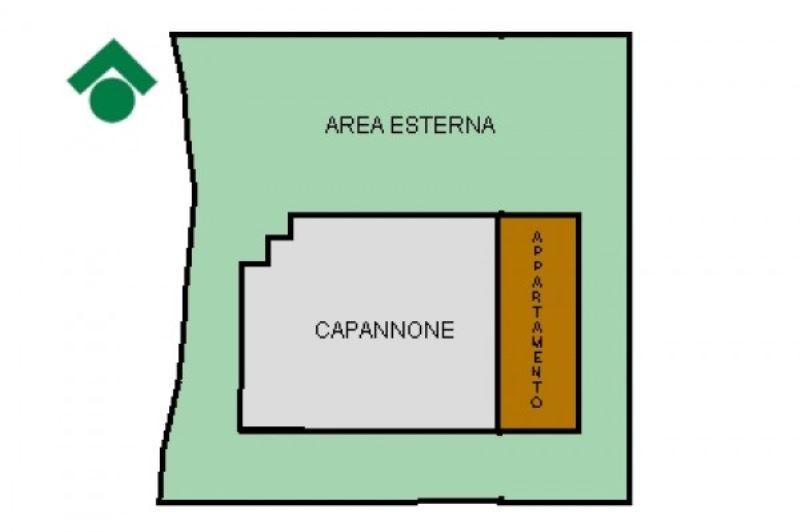 Capannone in affitto a Rudiano in Via Caduti