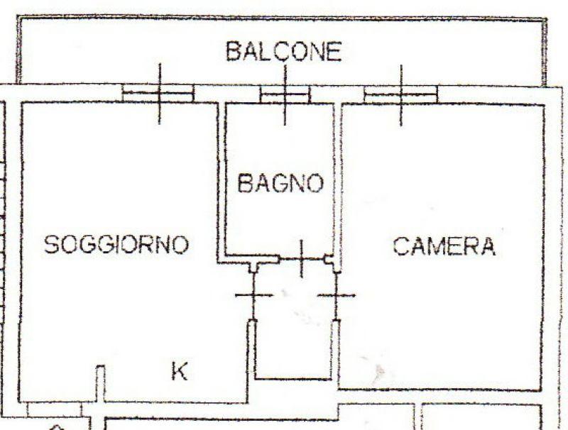Vendita  bilocale Milano Via Antonio Carnevali 1 1063295