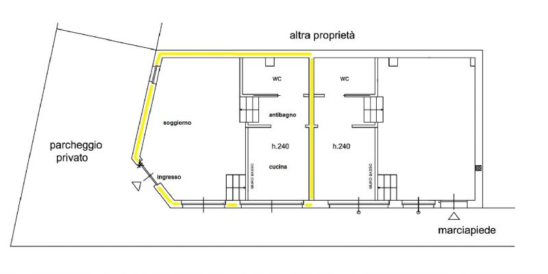 Vendita  bilocale Grugliasco Via Giovanni Verga 1 996858