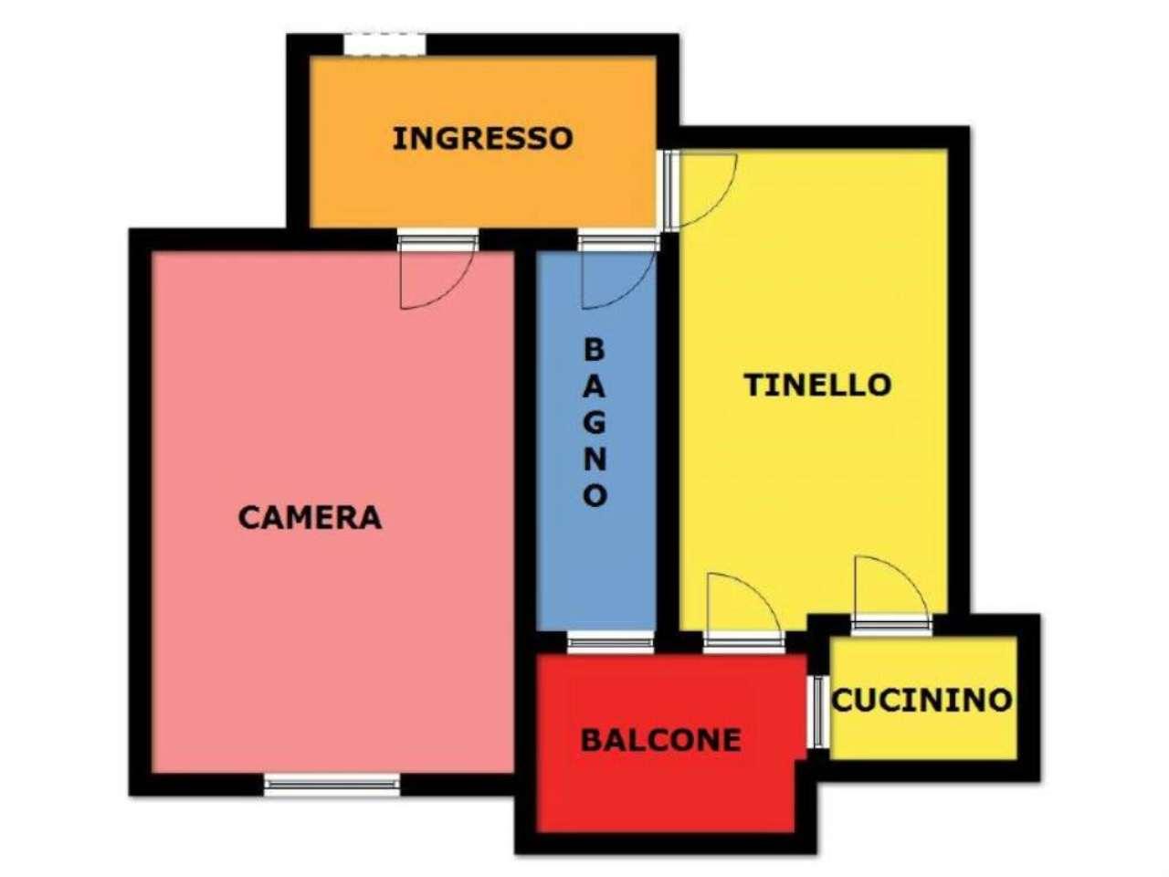 Vendita  bilocale Torino Via Marsigli 1 695714