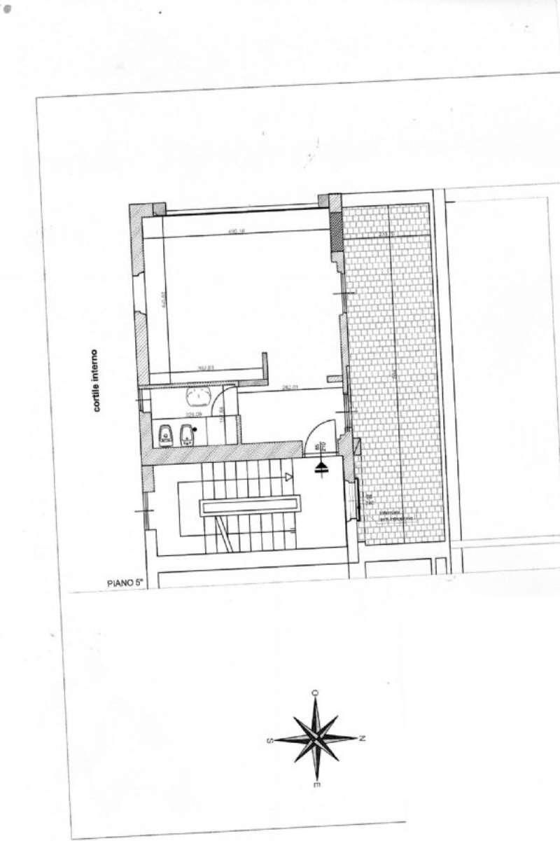 Affitto  bilocale Milano Corso Italia 1 1065223