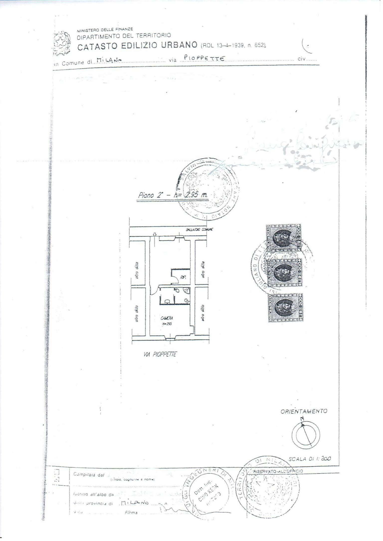 Vendita  bilocale Milano Via Pioppette 1 596752