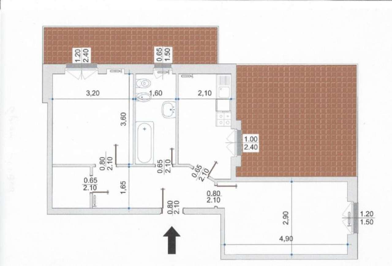 Appartamento in affitto a Novate Milanese, 2 locali, prezzo € 870   Cambio Casa.it