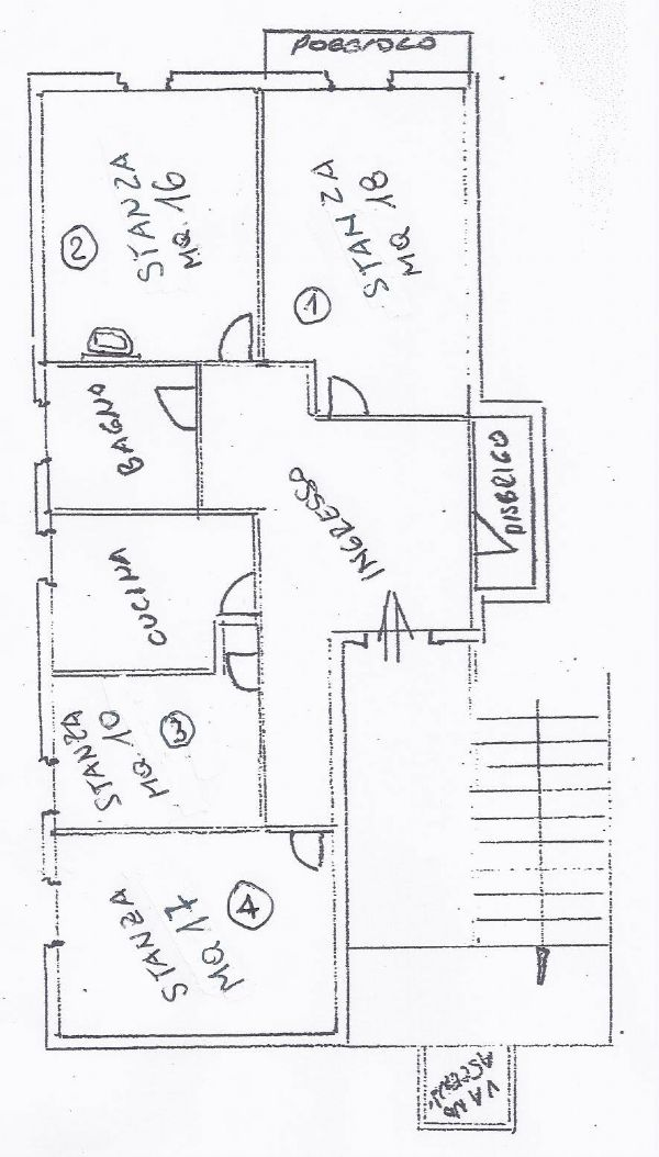 Affitto  bilocale Trento Viale Nepumiceno Bolognini 1 968433