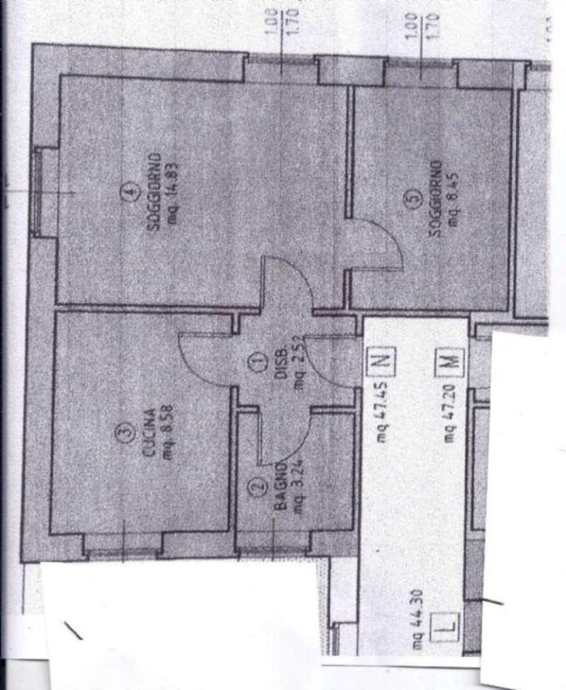 Affitto  bilocale Cles Via Martini 1 1064739