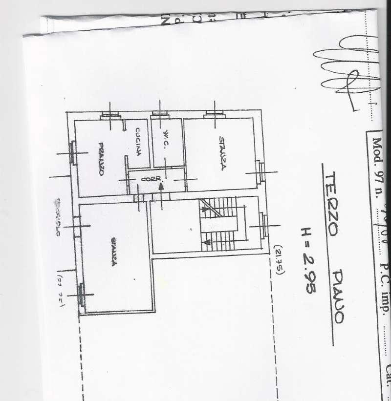 Appartamento in affitto a Cles, 4 locali, prezzo € 480 | Cambio Casa.it