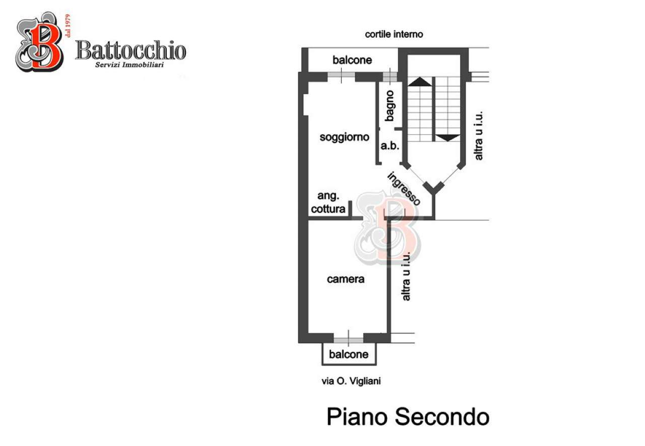 Foto 12 di Bilocale via onorato vigliani, Torino (zona Mirafiori)