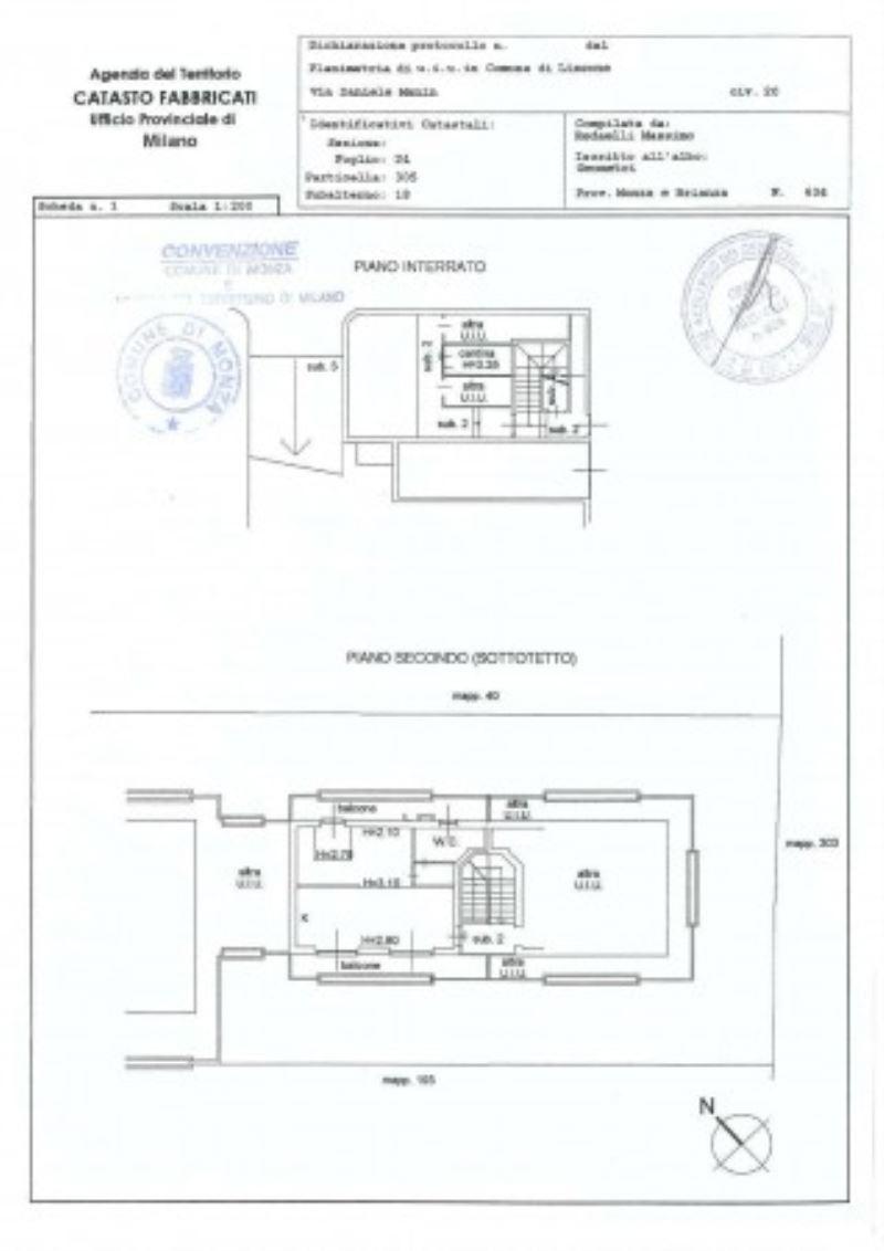 Vendita  bilocale Lissone Via Manin 1 949287