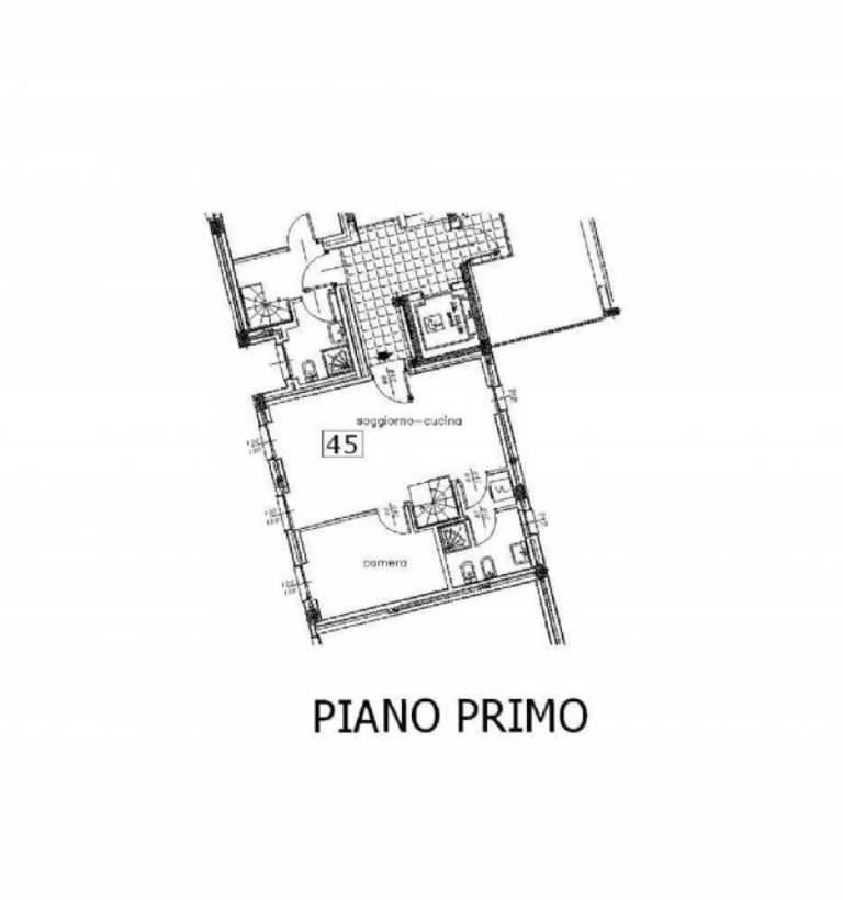 Vendita  bilocale Biassono Via Santa Maria Delle Selve 1 1079290