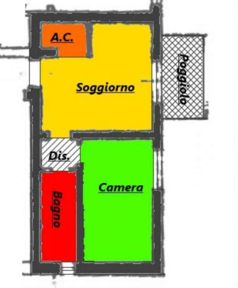 Vendita  bilocale Padova Via Florigerio 1 967848