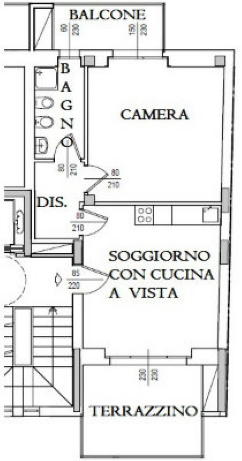 Vendita  bilocale Torino Via Oropa 1 541677