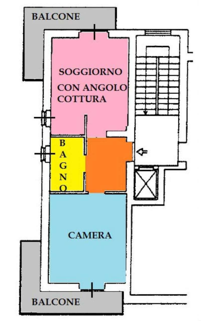 Vendita  bilocale Torino Via Rovereto 1 873577