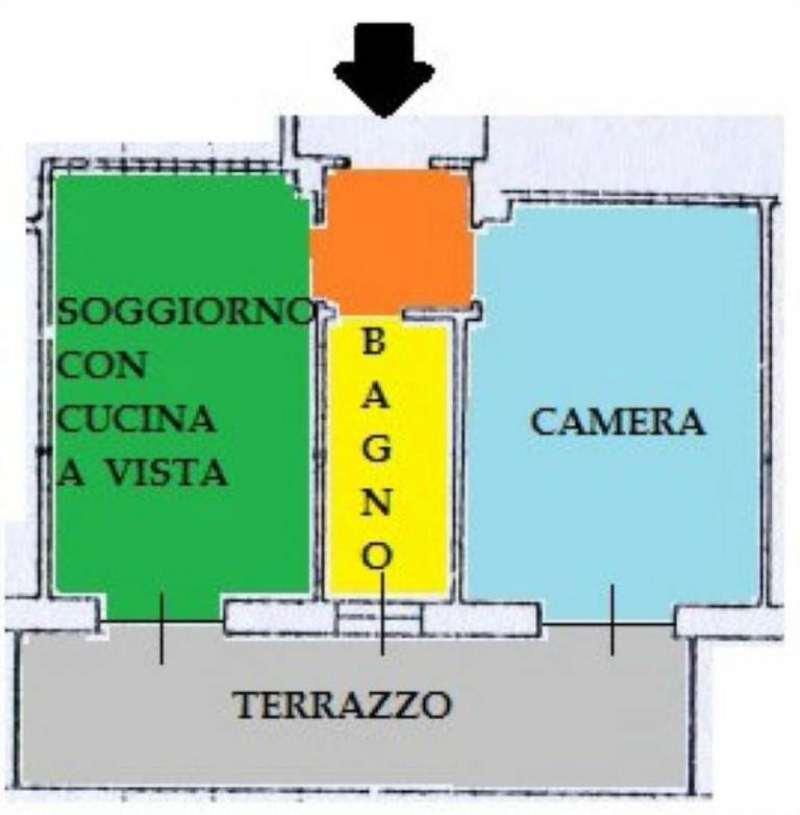 Vendita  bilocale Torino Via Pallanza 1 993924