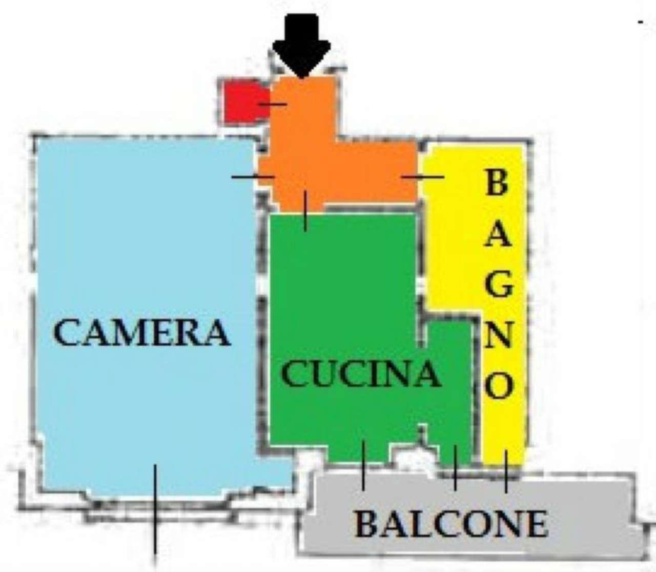 Vendita  bilocale Torino Via Montalenghe 1 1041951