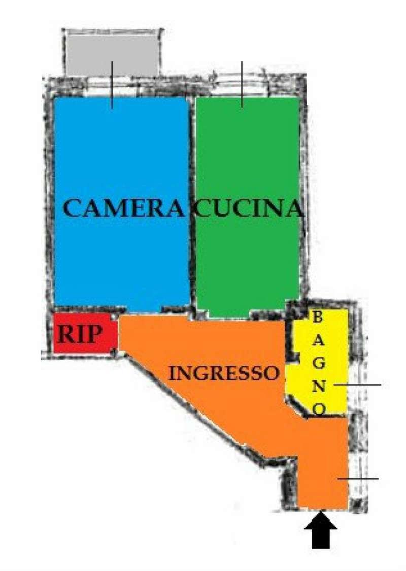 Vendita  bilocale Torino Via Giachino 1 1046303