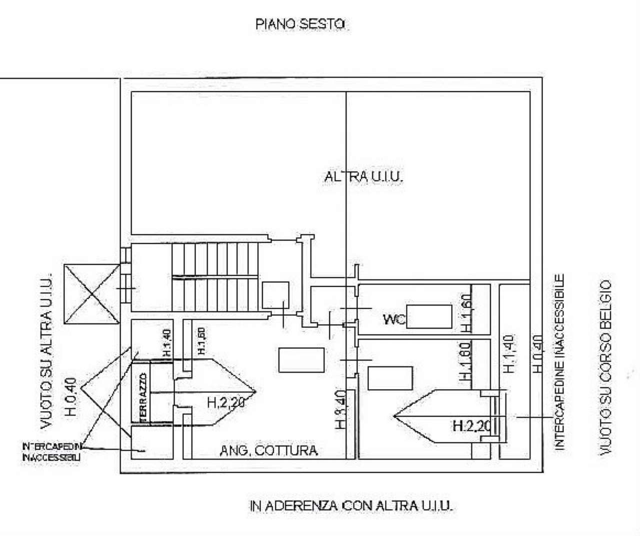 Vendita  bilocale Torino Corso Belgio 1 899593