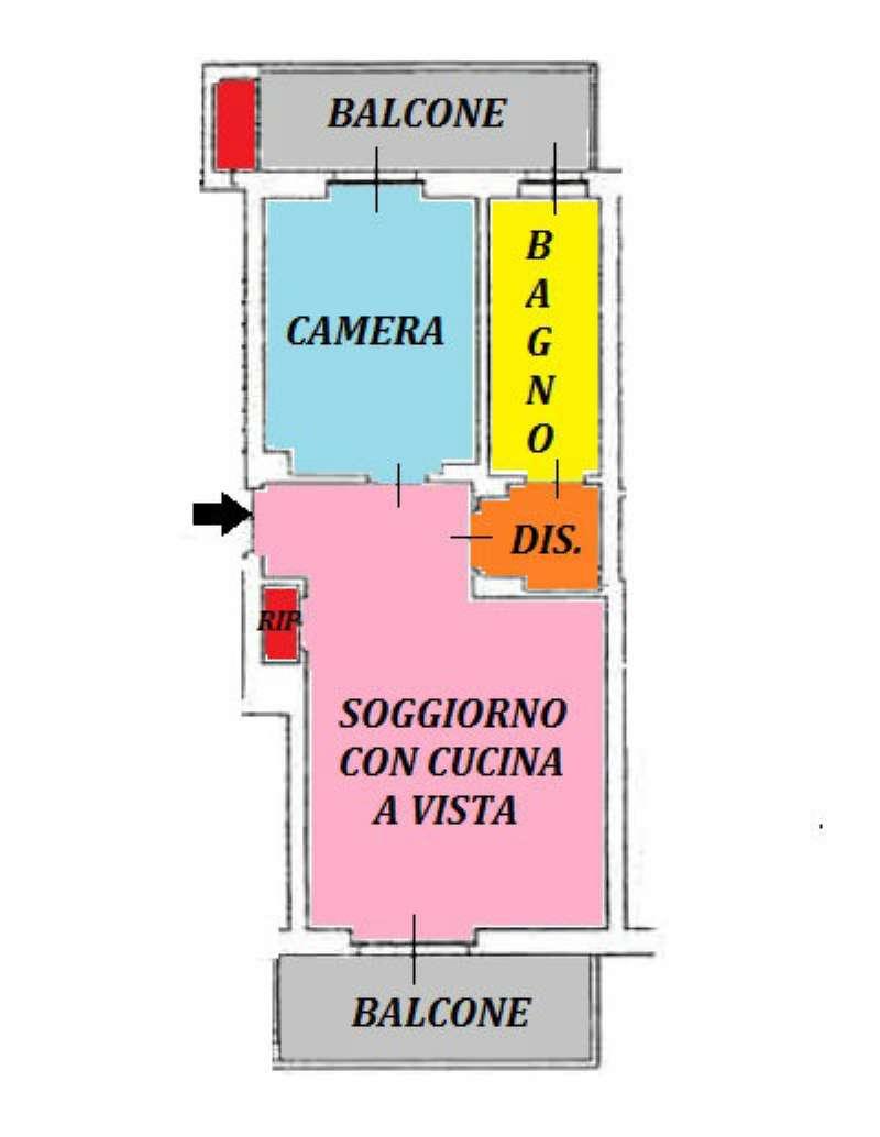 Vendita  bilocale Torino Strada Altessano 1 1067577