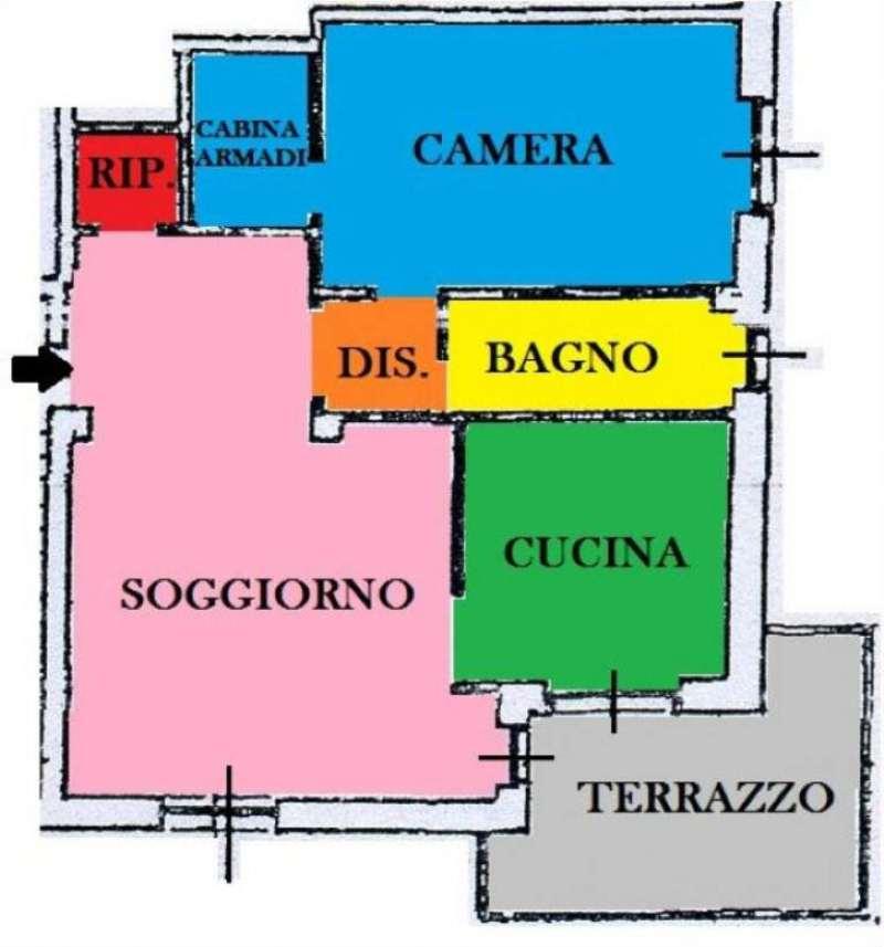Vendita  bilocale Torino Corso Casale 1 875151